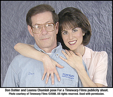Don Dohler Leanna Chamish Timewarp Films publicity photo