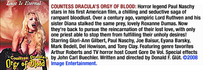 Countess Dracula Orgy of Blood