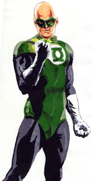 Green Lantern is Mitch Klein!