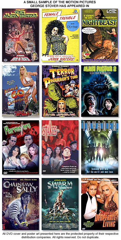 George Stover Film catalog