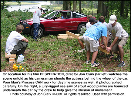 Jon Clark DESPERATION Poor Man's Process