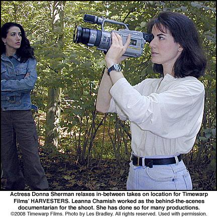 Documentarian Leanna Chamish
