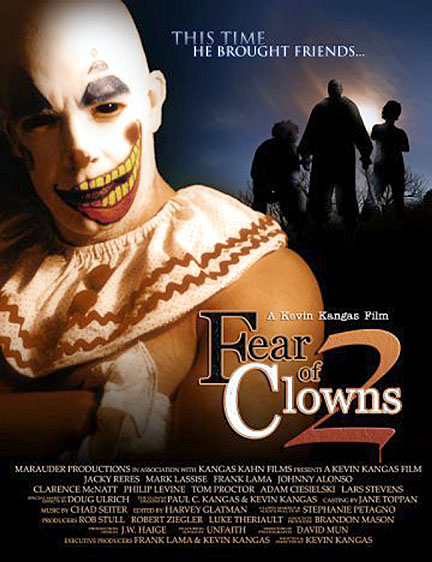 """Fear of Clowns 2″ - 2008"