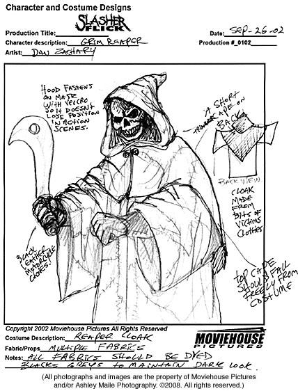 Reaper Costume art