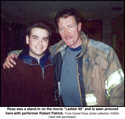 Daniel Ross on Ladder 49