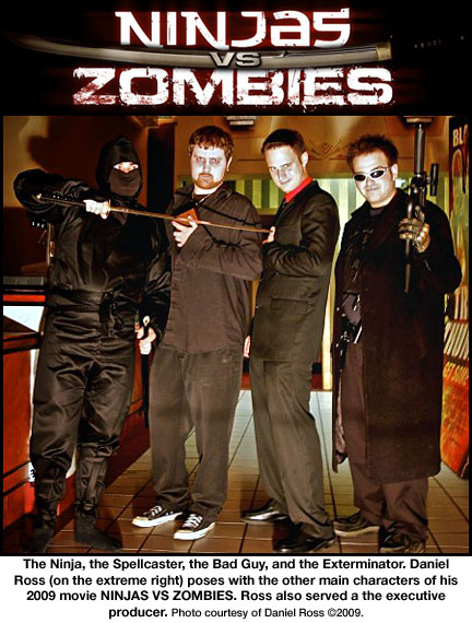 Ninjas vs Zombies with Daniel Ross