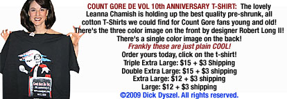 Count Gore T-shirt