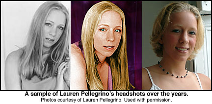 Lauren Pellegrino headshots