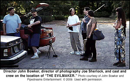 John Bowker on location