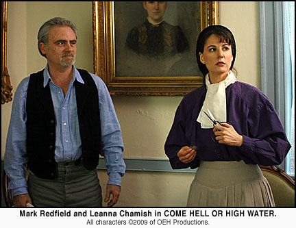 Mark Redfield Leanna Chamish Come Hell or High Water