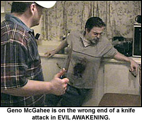 Geno McGahee stabbed in Evil Awakening