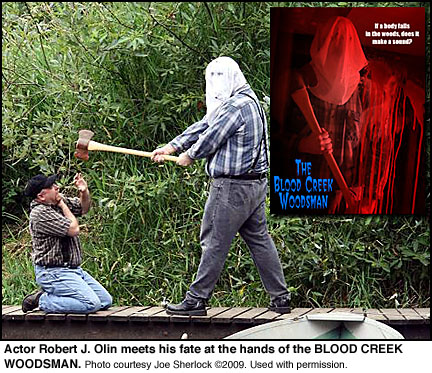 Robert J. Olin meets the BLOOD CREEK WOODSMAN