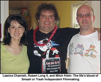 Leanna Chamish, Robert Long II, Mitch Klein