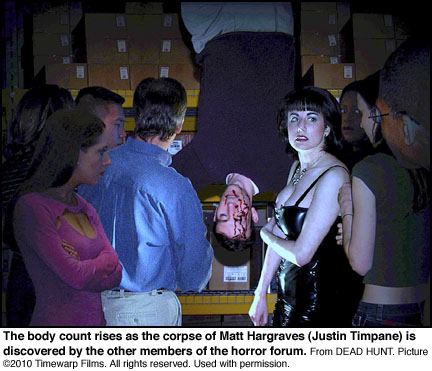 Matt Hargraves (Justin Timpane) found dead