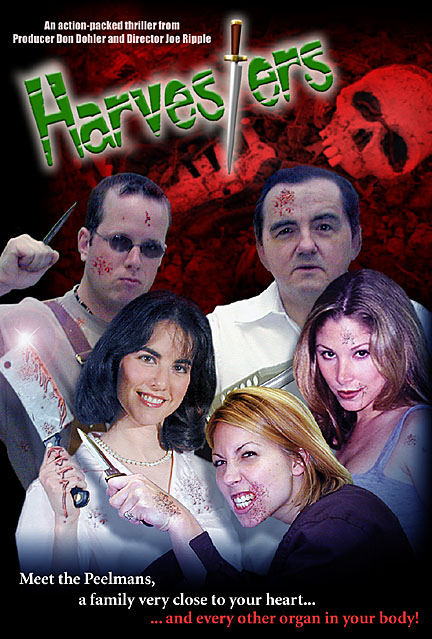 Harvesters starring George Stover, Leanna Chamish, Steven King