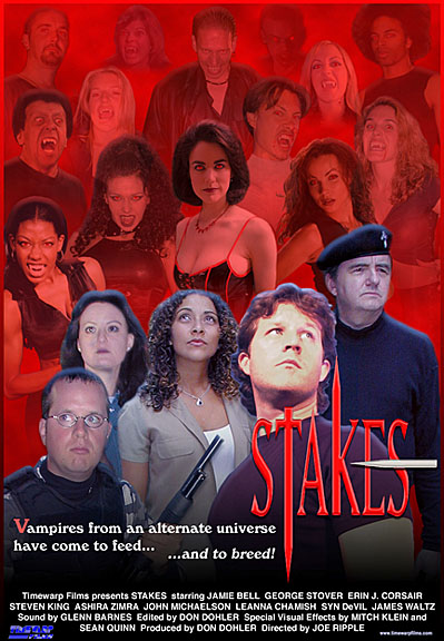 Stakes promo poster, Don Dohler, Joe Ripple, Robert Long II, Mitch Klein, Leanna Chamish