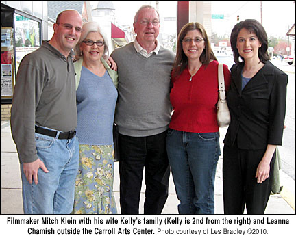 Mitch Klein and Family with Leanna Chamish
