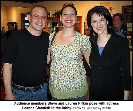 Steve and Lauren Rifkin and Leanna Chamish