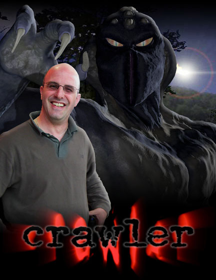 Mitch Klein and his CRAWLER creation