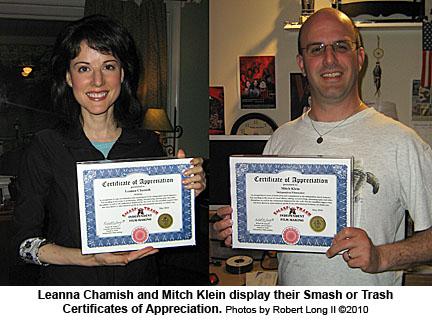 Leanna Chamish, Mitch Klein
