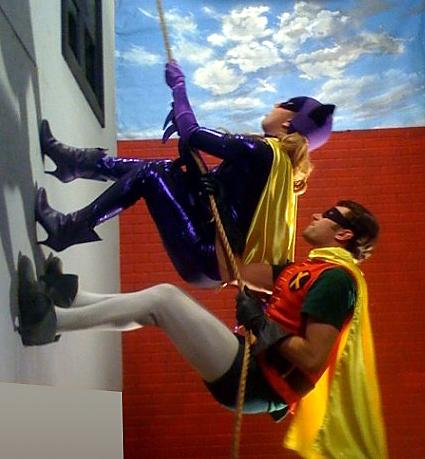 Axel Braun, Robin, Batgirl, Lexi Belle, James Deen, Batman XXX