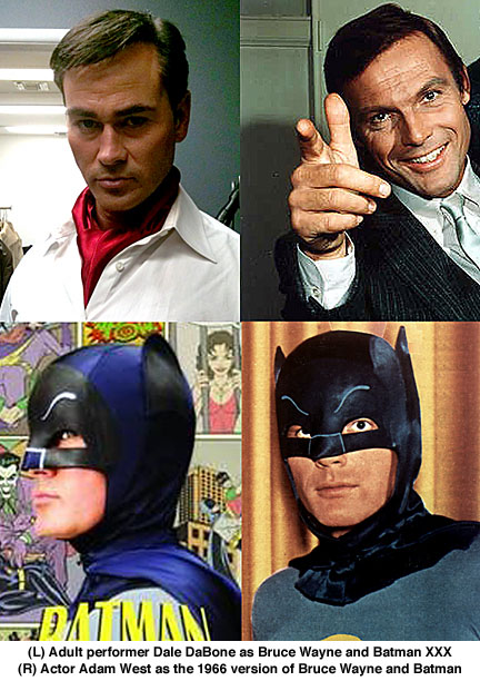 Dale DaBone, Adam West, Batman