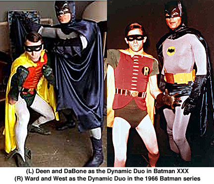 Dale DaBone, James Deen, Adam West, Burt Ward, Batman XXX, 1966 Batman
