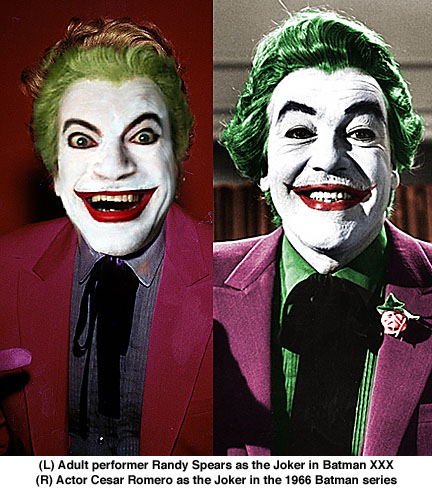 Randy Spears. Cesar Romero, Batman XXX, 1966 Batman