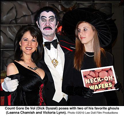 Leanna Chamish, Dick Dyszel, Victoria Lynn