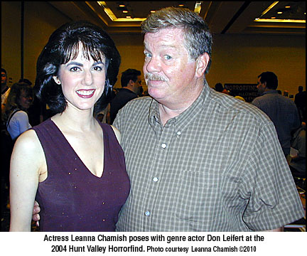 Leanna Chamish and Don Leifert