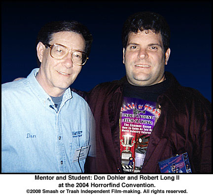 Don Dohler and Robert Long II