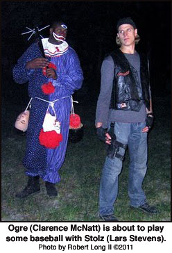 Clarence McNatt and Lars Stevens in Fear of Clowns 2