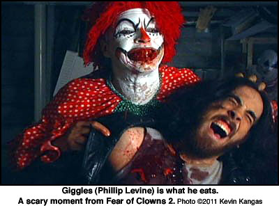 Phillip Levine as Giggles the Clown in Fear of Clowns 2