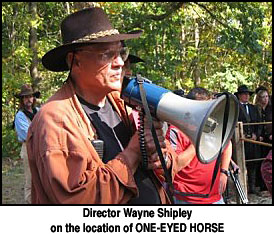 Wayne Shipley director of one eyed horse