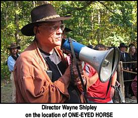 Wayne Shipley director of one eyed horse