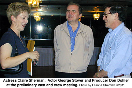 Claire Sherman, George Stover, Don Dohler