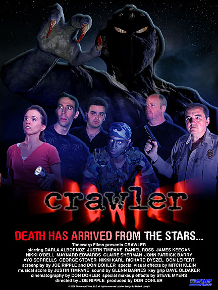 Crawler Poster Darla Albornoz, Justin Timpane, Mike Keegan, Daniel Ross, George Stover, Joe Ripple, Mitch Klein, Don Dohler