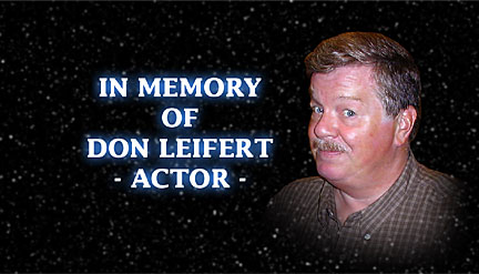 Don Leifert actor of Don Dohler movies