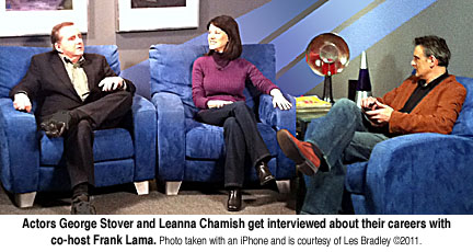 George Stover, Leanna Chamish interviewed by Frank Lama