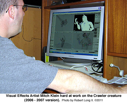 Mitch Klein, visual special effects artist