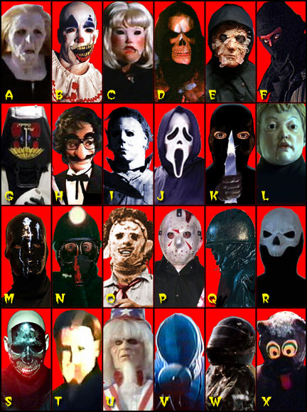 Slasher Rogues Gallery