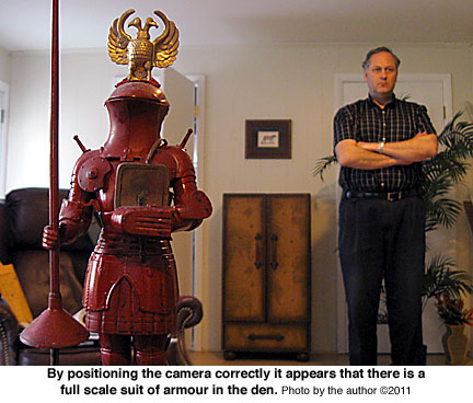 Suit of Armour miniature