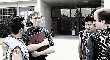Melvin horror nerd versus bullies