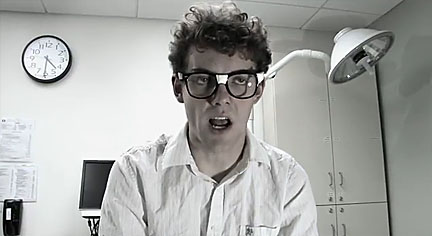 Melvin horror movie Norton the Geek