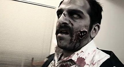 Melvin Horror movie tooth fairy zombie