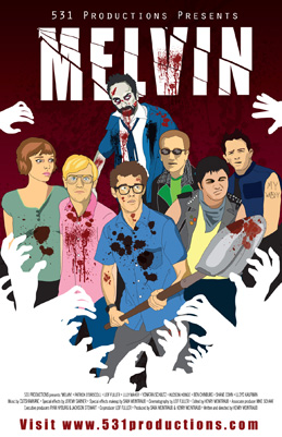 Melvin horror movie poster