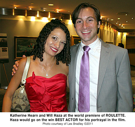 Katherine Hearn Will Haza at ROULETTE