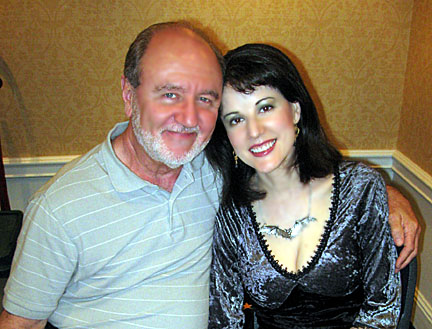 Les Bradley and Leanna Chamish