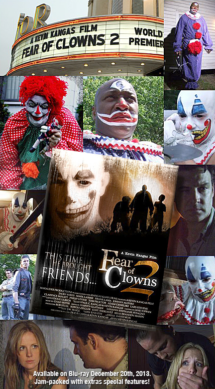 Fear of Clowns Blu-ray
