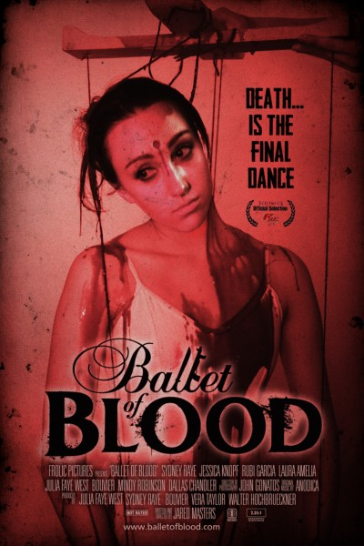 Ballet of Blood poster ainsley simple new font NEW TAG LAURELS lrg